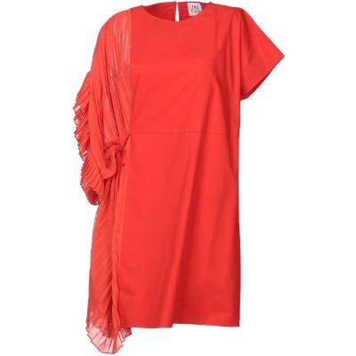 アティックアンドバーン ATTIC AND BARN ミニワンピース&ドレス レッド 40 ポリエステル 100% ミニワンピース&ドレス