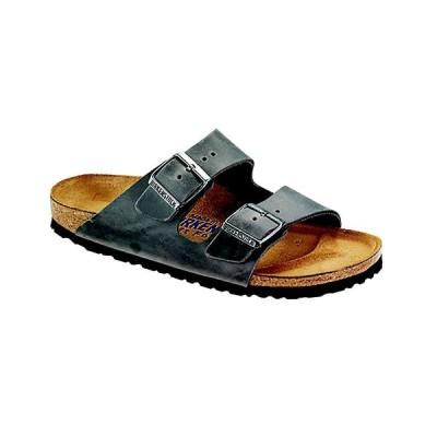 ビルケンシュトック Birkenstock USA メンズ サンダル シューズ・靴 Birkenstock Arizona Soft Footbed Sandal Iron Oiled Leather
