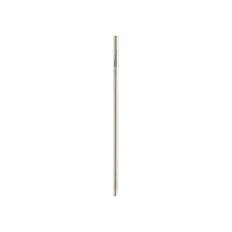【單支細吸管】鑽石鈍角純鈦吸管