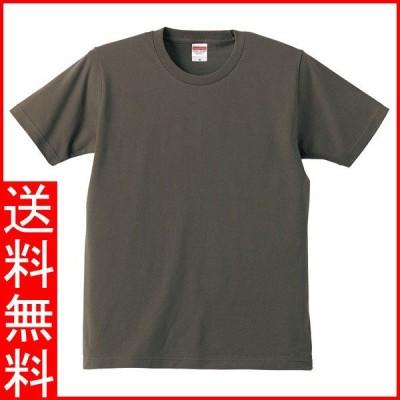Tシャツ メンズ レディース 半袖 無地 丸首 大きい 綿 綿100 シャツ tシャツ スポーツ クルーネック ブランド トップス 男 女 丈夫 人気 s m l 2l 3l 4l 茶 色