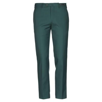 PT Torino パンツ エメラルドグリーン 50 ポリエステル 55% / バージンウール 45% パンツ