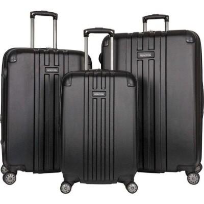 ケネス コール Kenneth Cole Reaction ユニセックス スーツケース・キャリーバッグ ハードサイド バッグ Reverb 3-Pc. Hardside Luggage Set Black