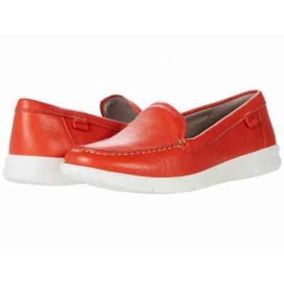 Rockport ロックポート レディース 女性用 シューズ 靴 ローファー ボートシューズ Ayva Washable Loafer Salsa Red【送料無料】
