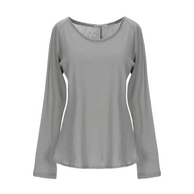 ピンコ PINKO T シャツ ライトグレー S コットン 90% / カシミヤ 10% T シャツ