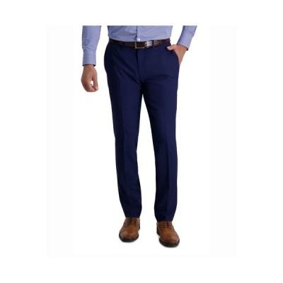 ルイス ラファエル カジュアルパンツ ボトムス メンズ Stretch Stria Slim Fit Flat Front Suit Separate Pant Midnight