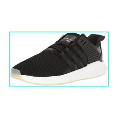 adidas Originals Men's EQT Support 93/17 Running Shoe, core Black/core Black/White, 9 M US