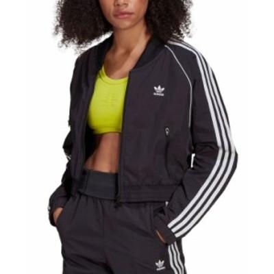 アディダス レディース ジャケット・ブルゾン アウター Women's Cropped Track Jacket Black
