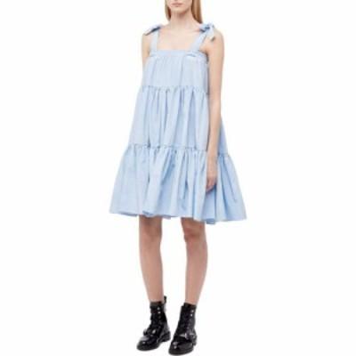 バットシェヴァ Batsheva レディース ワンピース ワンピース・ドレス Amy Dress/Skirt Blue Moire