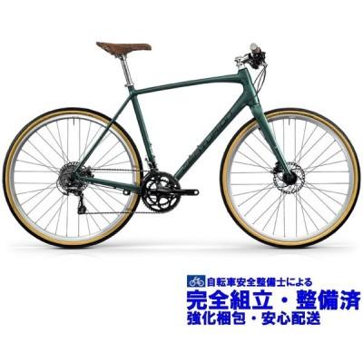 (選べる特典付!)クロスバイク 2020 CENTURION センチュリオン CITY SPEED 1000 シティースピード 1000 マットグリーン(ダークグレー)(SHIMANO TIAGRA)
