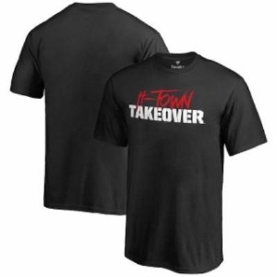 Fanatics Branded ファナティクス ブランド スポーツ用品  Houston Cougars Youth Black H-Town Takeover T-Shirt