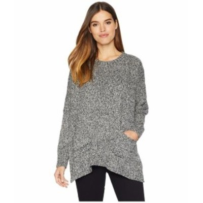 kensie ケンジー 服 スウェット Two-Tone Boucle Sweater KSNK5909
