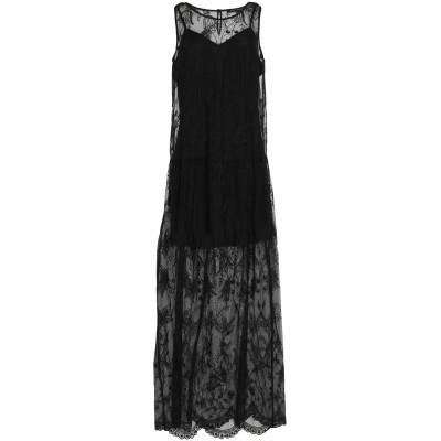 フレンチコネクション FRENCH CONNECTION ロングワンピース&ドレス ブラック 6 ポリエステル 100% ロングワンピース&ドレス