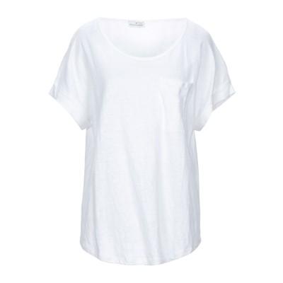 BRUNO MANETTI T シャツ ホワイト 48 リネン 100% T シャツ