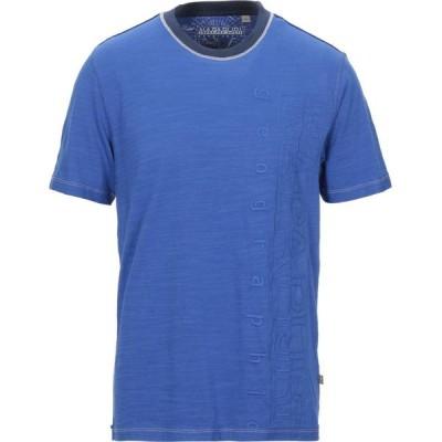 ナパピリ NAPAPIJRI メンズ Tシャツ トップス t-shirt Blue