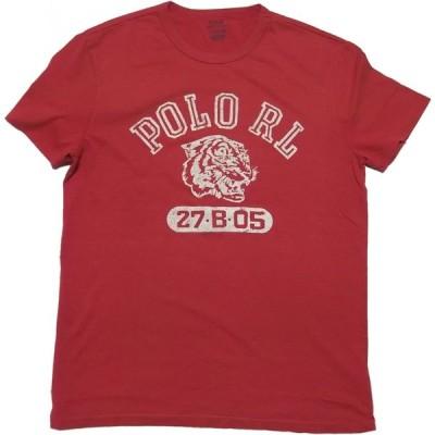 ポロ ラルフローレン 半袖 プリント Tシャツ レッド メンズ Polo Ralph Lauren 071