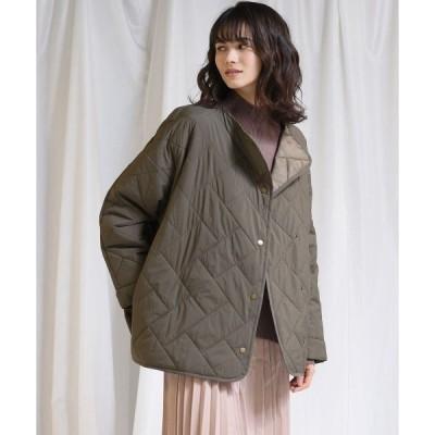 アウター 【socolla】【WEB別注】中綿キルティングジャケット