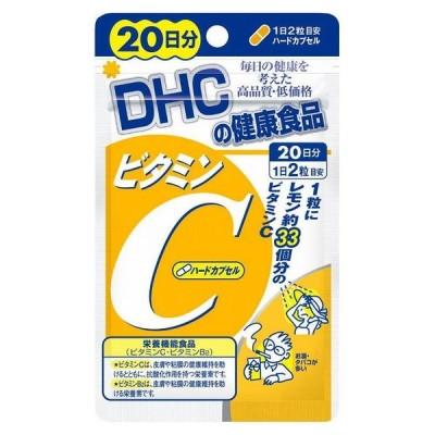 DHC ビタミンC ハードカプセル 20日 40粒 日本製 サプリメント サプリ 健康食品