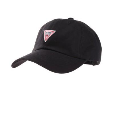 帽子 メンズ キャップ ツイル ローキャップ 100115403 BLK 日よけ