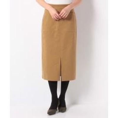 en recre(アン レクレ)【DOLLY SEAN】フェイクレザータイトスカート
