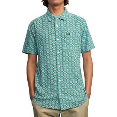 ルーカ メンズ シャツ トップス Vanner Gauze Short-Sleeve Shirt Pale Mauve