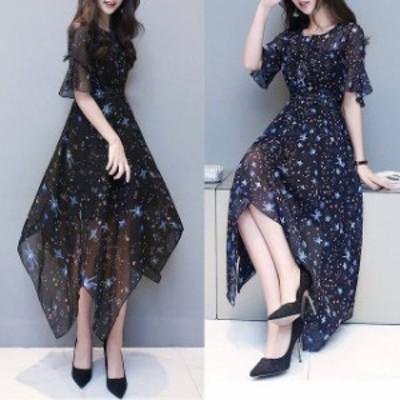 パーティードレス 結婚式 二次会 お呼ばれ ワンピース 袖あり お呼ばれドレス ドレス 20代 30代 40代 透け 大きいサイズ