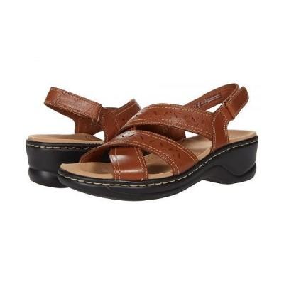 Clarks クラークス レディース 女性用 シューズ 靴 ヒール Lexi Pearl - Dark Tan Leather