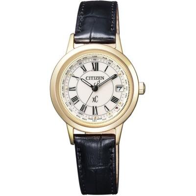 [シチズン]CITIZEN 腕時計 xC クロスシー エコ・ドライブ 電波時計 ティタニアライン ハッピーフライトシリーズ EC1142-05B レディース