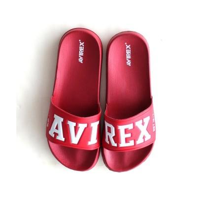 【アヴィレックス】 バンシー マークII/シャワーサンダル/BANSHEE MARK II レディース レッド 26 AVIREX