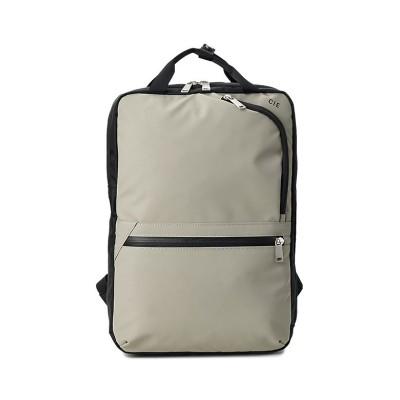 【カバンのセレクション】 CIE シー リュック バックパックS レディース ブランド 防水 ヴァリアス VARIOUS 021807 ユニセックス グレー フリー Bag&Luggage SELECTION