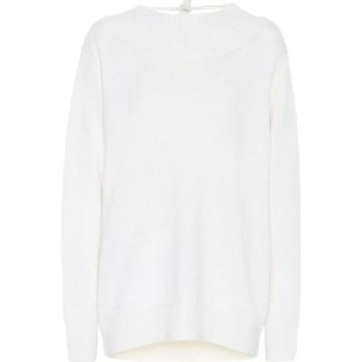 クロエ Chloe レディース ニット・セーター トップス oversized cashmere sweater White