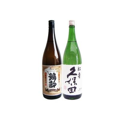 鶴齢 芳醇 1.8Lと久保田 紅寿 純米吟醸 1.8L  日本酒 飲み比べセット 2本セット