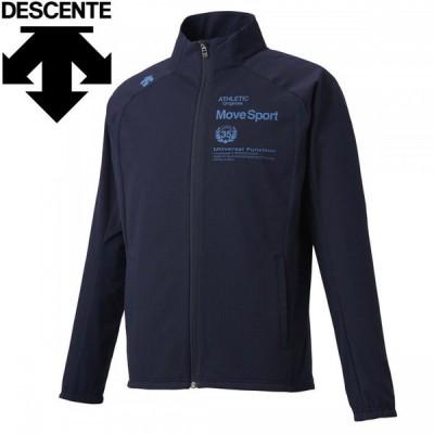 デサント マルチトレ-ニング グリッドクロス スタンドジャケット メンズ DMMQJF15-NV