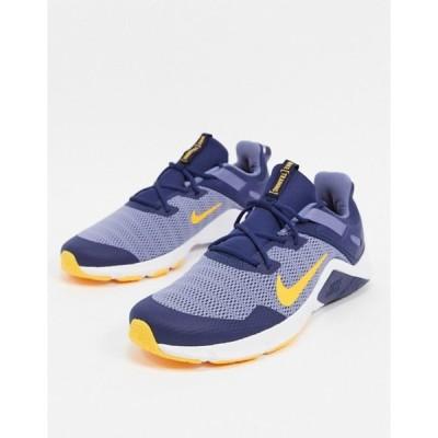 ナイキ メンズ スニーカー シューズ Nike Training Legend Essential sneakers in navy