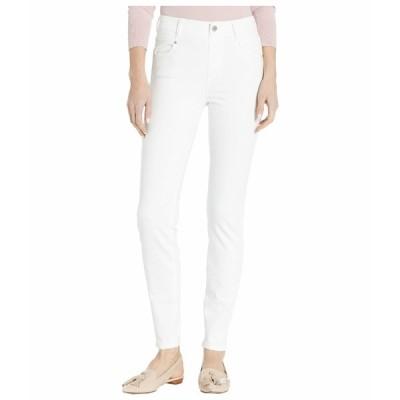 リバプール デニムパンツ ボトムス レディース Gia Glider Skinny in Bright White Bright White