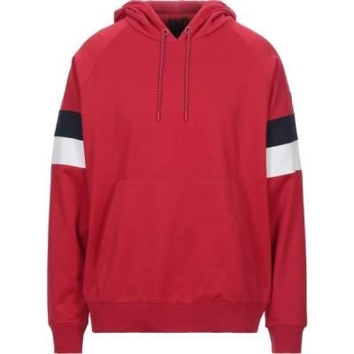 チェッセ ピューミニ CIESSE PIUMINI メンズ パーカー トップス hooded sweatshirt Red