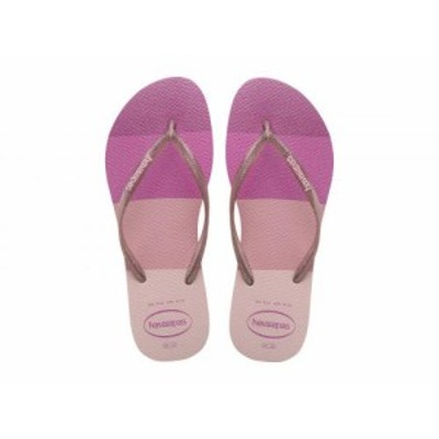 Havaianas ハワイアナス レディース 女性用 シューズ 靴 サンダル Slim Palette Glow Flip-Flop Candy Pink【送料無料】