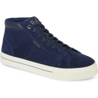 テッドベーカー TED BAKER LONDON メンズ スニーカー シューズ・靴 Peray Sneaker Dark Blue