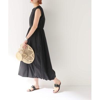レディース ボイスフロムベイクルーズ 【KENJI HIKINO】NYLON TUCJED DRESS ブラック フリー