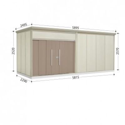 物置 屋外 おしゃれ タクボ物置 JN/トールマン JN-5822 一般型 標準屋根 カーボンブラウン