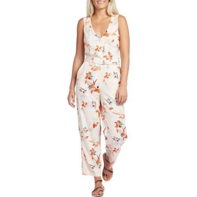 オベイ Obey Clothing レディース オールインワン ジャンプスーツ ワンピース・ドレス Jaya Jumpsuit Tender Peach
