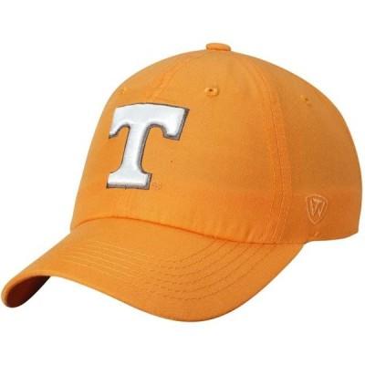 ユニセックス スポーツリーグ アメリカ大学スポーツ Tennessee Volunteers Top of the World Primary Logo Staple Adjustable Hat - Te