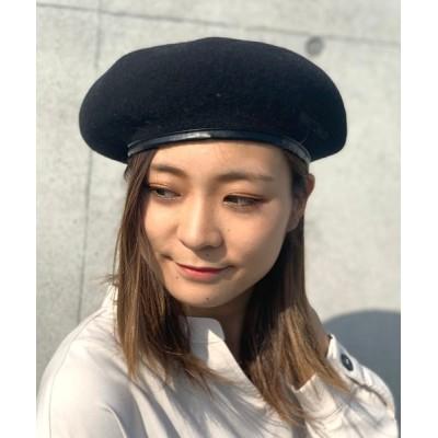 JUGLANS / MINNETONKA PIPNG BASQUE BERET WOMEN 帽子 > ハンチング/ベレー帽