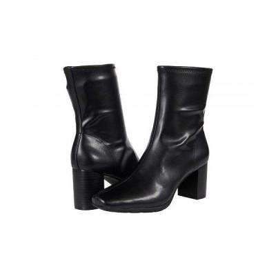 Aerosoles エアロソールズ レディース 女性用 シューズ 靴 ブーツ アンクル ショートブーツ Miley - Black