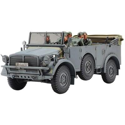 タミヤ 1/48 ミリタリーミニチュアシリーズ No.86 ドイツ陸軍 大型軍用乗用車 ホルヒ タイプ 1a プラモデル 32586