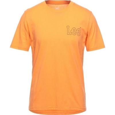 リー LEE メンズ Tシャツ トップス t-shirt Orange