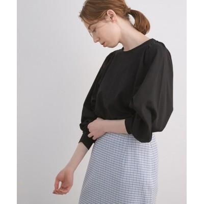 ROPE' / 【WEB限定】ボリュームスリーブチュニックプルオーバー WOMEN トップス > Tシャツ/カットソー