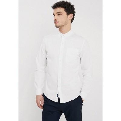 ドッカーズ シャツ メンズ トップス ALPHA ICON - Shirt - paper white
