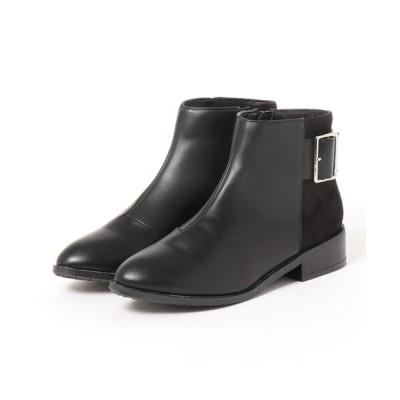 シュープラザ / 【SAVOY】<2020AW> バックル付きショートブーツ WOMEN シューズ > ブーツ