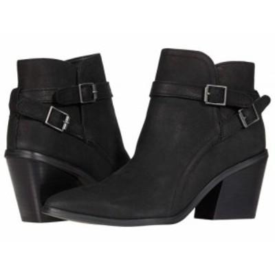 Nine West ナインウエスト レディース 女性用 シューズ 靴 ブーツ アンクル ショートブーツ Scala Black【送料無料】