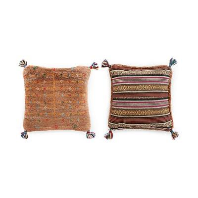 ペルシャ手織りギャッベ クッション3(5)msc65:38×38cm【三越伊勢丹/公式】